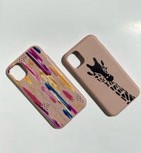 "Load image into Gallery viewer, ""Abstract Paint"" Biodegradable iPhone Case"