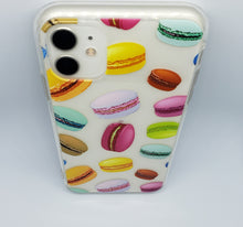 "Load image into Gallery viewer, ""Macaron"" Clear iPhone Case"