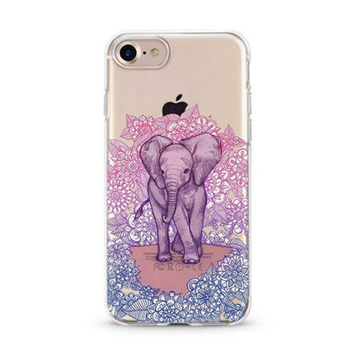 Purple Elephant iPhone Case Hoola Boutique