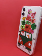 "Load image into Gallery viewer, ""Christmas Gifts"" iPhone Clear Case"