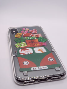"""Christmas Gifts"" iPhone Clear Case"