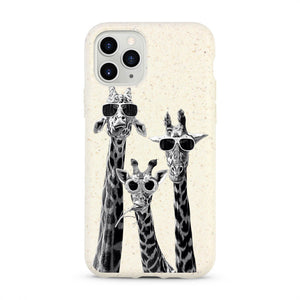 """Giraffes"" Biodegradable iPhone Case"