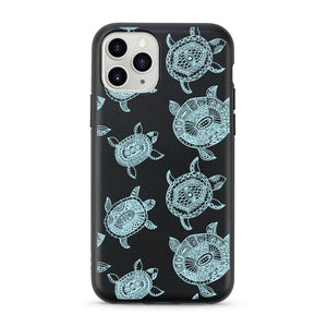 """Blue Turtles"" Biodegradable iPhone Case"