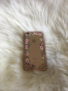 """Garden of Eden"" Clear iPhone 6 Plus case"