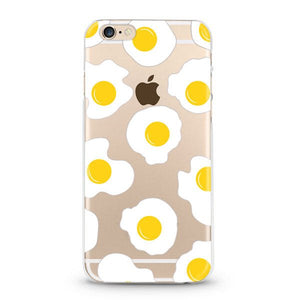 """Eggs"" iPhone Clear Case"