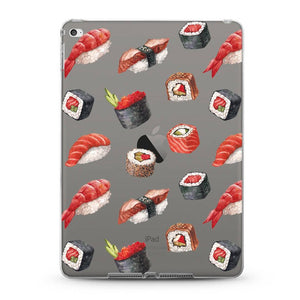 """Sushi"" iPad Pro transparent clear case"