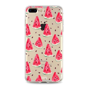 """Watermelon"" iPhone Clear Case"