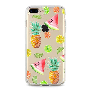 """Fruits"" Clear iPhone Case"