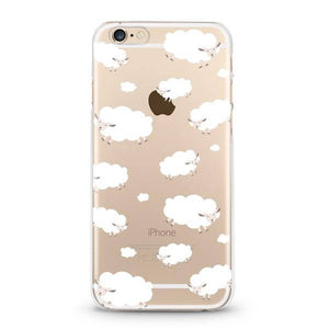 """Counting Sheep"" Clear iPhone Case"