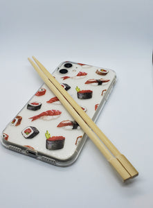 """Sushi"" Clear iPhone Case"