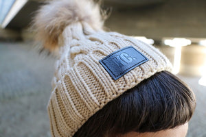 KC Bobble Beanie Hat
