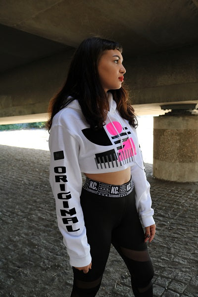 Oxymoron Crop Top Hoody