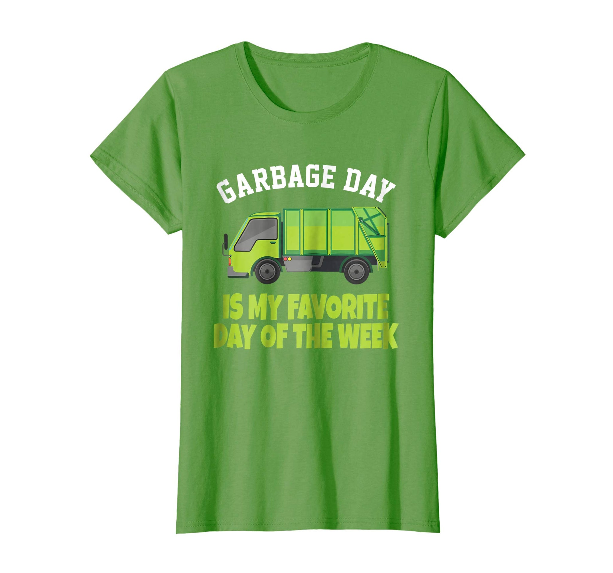 Garbage Day Truck T-Shirt - Waste Disposal Dumpster Tee