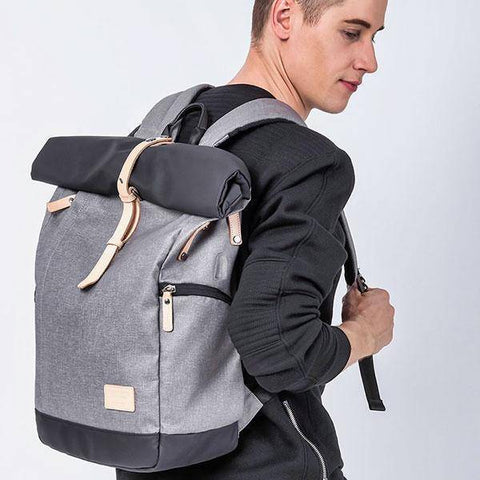 2019! Casual Roll Up Back Pack