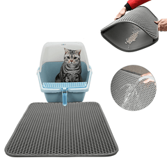 Double-Layer Cat Litter