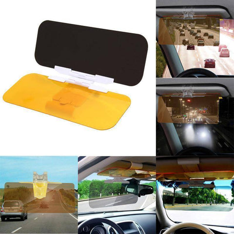 DAY & NIGHT VISION DRIVING VISOR