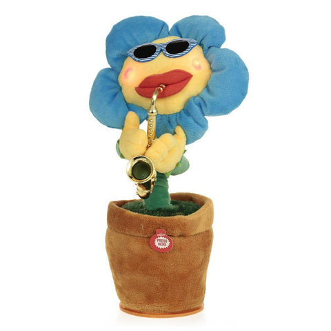Funny Saxophone Sunflower Dancing Toy