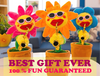 Image of Funny Saxophone Sunflower Dancing Toy