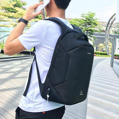 BAIBU NEW 2019  15.6 Laptop  Anti Theft Backpack Oxford Waterproof