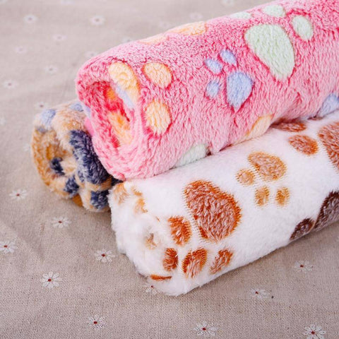 Warm Winter Dog Blanket Soft Touch 3 Color