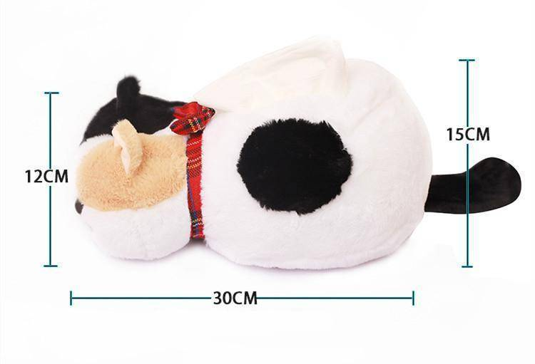 Plush Cat Tissue Box Cover
