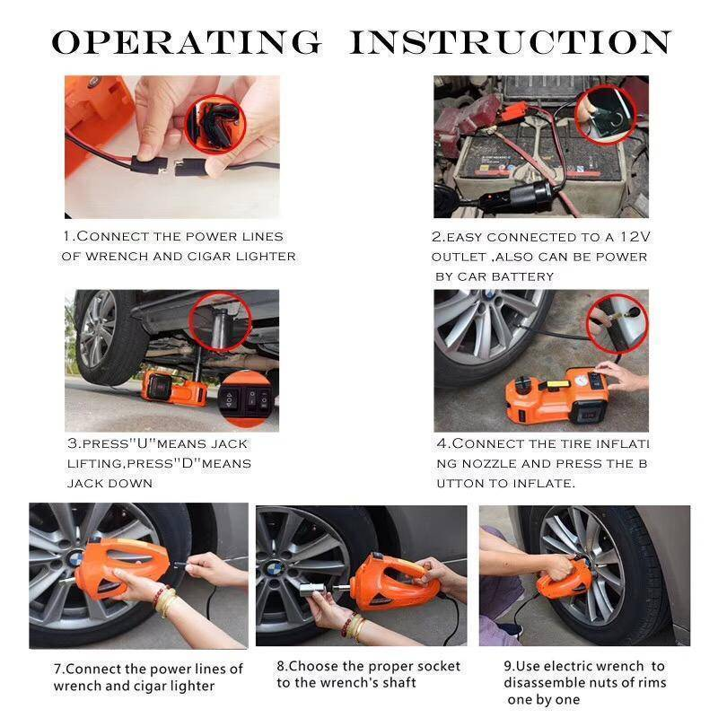 2019 Collection!!! 5Ton 3 in 1 Car multi-function maintenance tool