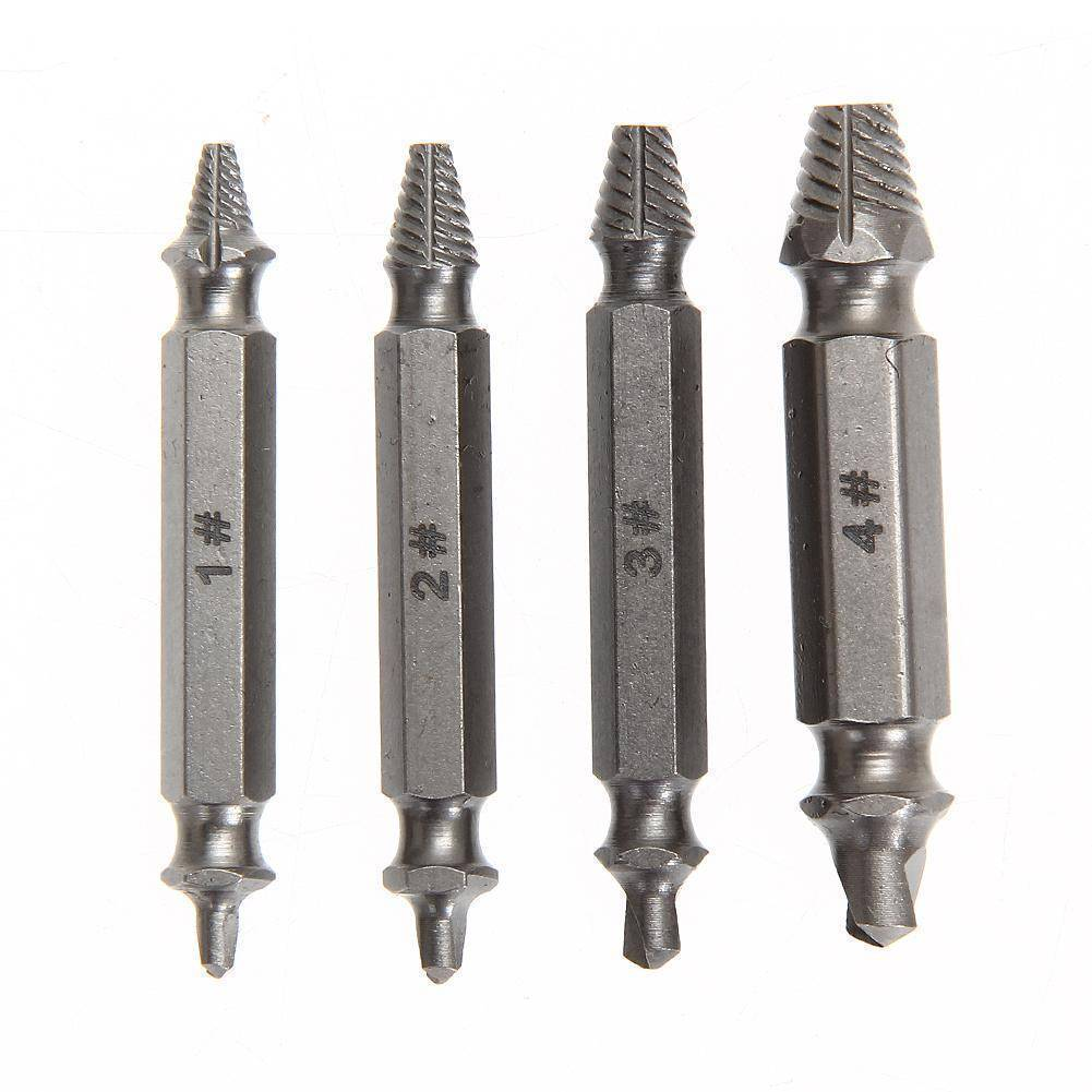 4 PCS Double Side Screw Extractor Kit