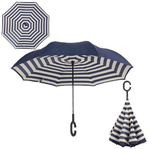 Brella-windproof double reverse umbrella