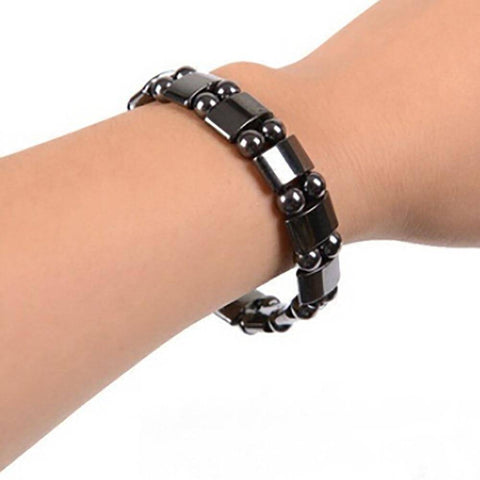 Weight Loss Black Stone Magnetic Therapy Bracelet