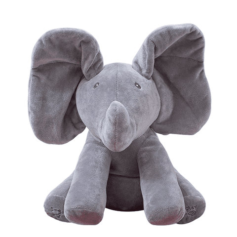 Peek-a-Boo Animated and Singing Elephant