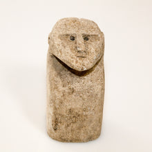 Load image into Gallery viewer, Unique, small and decorative traditional hand-carved stone man statue from Sumba, Indonesia