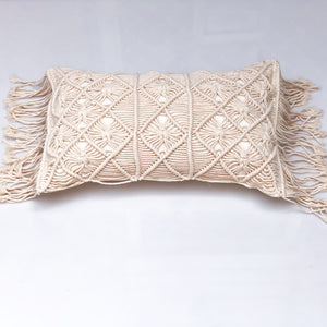 Macrame Lumbar Cushion