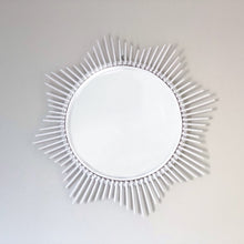 Load image into Gallery viewer, Rattan Sun Mirror