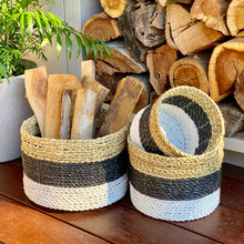 Load image into Gallery viewer, Seagrass Baskets (Set of 3)