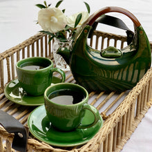 Load image into Gallery viewer, Teapot & 2 Cups/Saucers Set