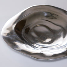 Load image into Gallery viewer, Silver Round Rippled Bowl