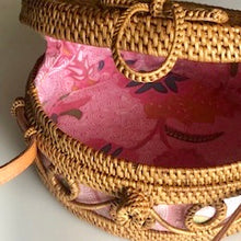 Load image into Gallery viewer, Ava Rattan Crossbody Bag