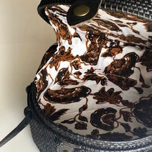 Load image into Gallery viewer, Serena Rattan Crossbody Bag