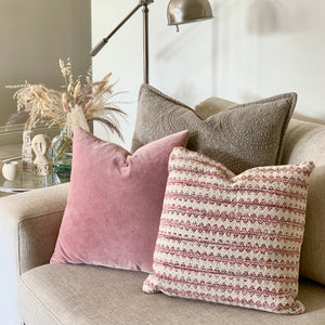 Argyle Stripe Cushion
