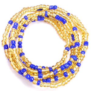 Transparent Gold and Blue