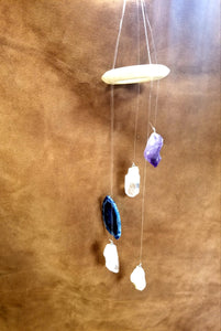 Windchime citrine and agate