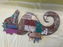 Load image into Gallery viewer, Recycled boat wood carving LG