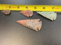 Arrowheads Stone Carved