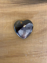 Load image into Gallery viewer, Gemstone heart flat