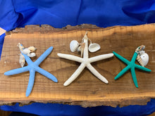 Load image into Gallery viewer, Starfish ornament w/shells