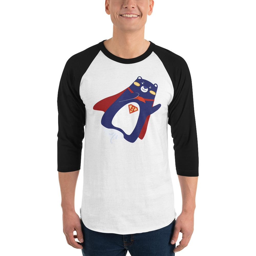 3/4-sleeve shirt - Bearie Superman