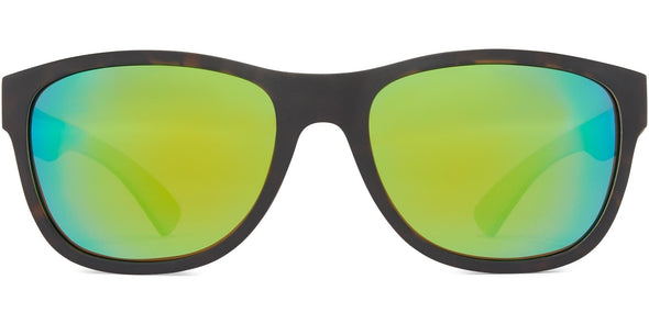 Arc - Matt Tortoise w Tan/Brown/Green Mirror (4567836262503)