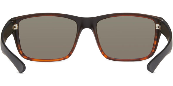 Cabana - Matt Tortoise w Black/Gray/Blue Mirror - Polarized Sunglasses (3877045207143)
