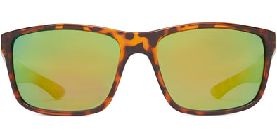 Cabana - Shiny Tortoise/Brown/Green Mirror - Polarized Sunglasses (3877045174375)