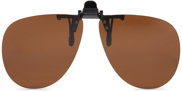 Clip-&-Flip Aviator - Polarized Sunglasses